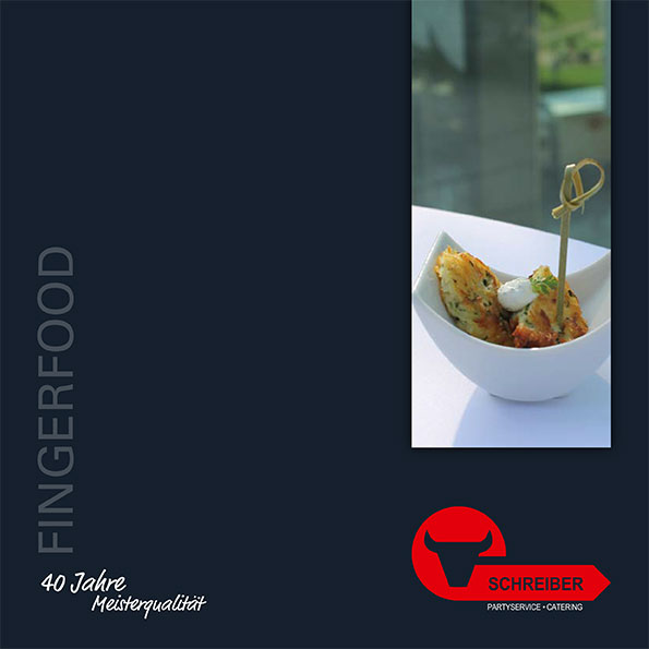 Unser Fingerfood-Flyer